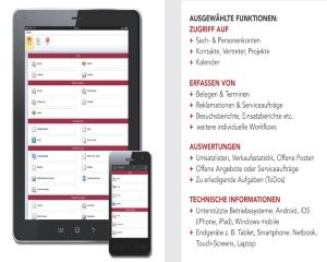 """NETplus zeigt Ihnen die """"Mobile Verwaltung von Serviceaufträgen in der mesonic WinLine"""""""